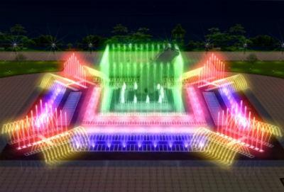 фонтан со скульптурой - Все фонтаны