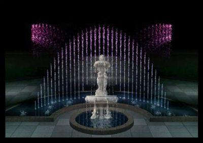 музыкальный фонтан со скульптурой - Все фонтаны
